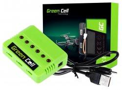 Ladeprogramm Green Cell ® Für Drohnenbatterien/Hubschrauber Sym Hubsan JJRC Wltoys Über die Spannung 3.7V
