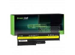 Green Cell Batería 92P1138 92P1139 42T4504 42T4513 para Lenovo ThinkPad R60 R60e R61 R61e R61i R500 SL500 T60 T61 T500 W500