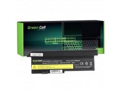 Green Cell Batería 42T4536 42T4650 para Lenovo ThinkPad X200 X200s X201 X201s X201i