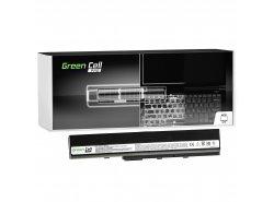 Green Cell PRO Batería A32-K52 para Asus A52 A52F A52N K42 K52 K52D K52F K52J K52JB K52JC K52JE K52N X52 X52F X52J X52N