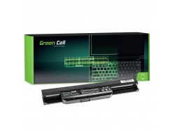 Green Cell Batería A32-K53 para Asus K53 K53E K53S K53SJ K53SV K53T K53U K54 X53 X53E X53S X53SV X53U X54 X54C X54H X54L