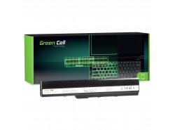 Green Cell Batería A32-K52 para Asus A52 A52F A52N K42 K52 K52D K52F K52J K52JB K52JC K52JE K52JR K52N X52 X52F X52J X52N