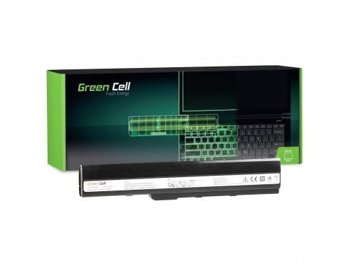 Green Cell ® Laptop Batería A32-K52 para K52 K52J K52F K52JC K52JR K52N X52 X52J A52 A52F