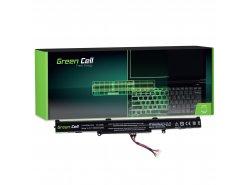 Green Cell Batería A41-X550E para Asus A550 F550 F550D K550 K750 R510 R510D R510DP R750 R752L R752LB X450 X550 X550D X750