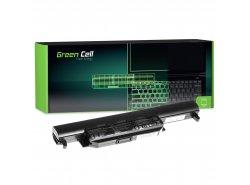Green Cell Batería A32-K55 para Asus R400 R500 R500V R500VJ R700 R700V K55 K55A K55VD K55VJ K55VM K75V X55A X55U X75V X75VB