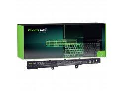 Green Cell ® Batería para computadora portátil A41N1308 A31N1319 para R508 R556LD R509 X551 X551C X551M X551CA X551MA X551MAV