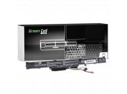 Green Cell PRO Batería A41-X550E para Asus A550 F550 F550D K550 K750 R510 R510D R510DP R750 R752L X450 X550 X550D X750 X751L