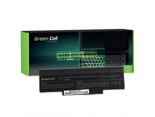 Laptop Green Cell ® Akku BTY-M66 para Asus A9 S9 S96 Z62 Z9 Z94 Z96 PC CLUB EnPower ENP 630 COMPAL FL90 COMPAL FL92