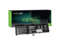 Green Cell Batería C21-X202 para Asus X201 X201E F201E VivoBook F202E Q200E S200E X202 X202E