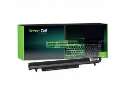 Laptop Green Cell ® Akku A41-K56 A42-K56 para Asus K56 K56C K56CA K56CB K56CM K56CM K56V S56 S405