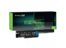 Batería para portátil Green Cell ® FPCBP274 FMVNBP195 para Fujitsu LifeBook BH531 LH531 SH531