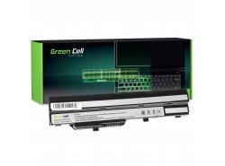 Batería para portátil Green Cell ® BTY-S11 BTY-S12 para MSI Wind U90 U100 U110 U120 U130 U135 U135DX U200 U250 U270