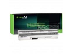 Green Cell Batería BTY-S12 BTY-S11 para MSI Wind U100 U250 U270 U135DX MOUSE LuvBook U100 PROLINE U100 Roverbook Neo U100