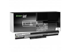 Batería para portátil Green Cell PRO ® VGP-BPS35A para Sony Vaio SVF14 SVF15 Fit 14E Fit 15E