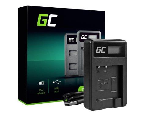 Cámara Cargador de batería BC-CSN Green Cell Cell® para Sony NP-BN1, Cyber-Shot DSC-QX10 DSC-QX100 DSC-TF1 DSC-TX10 DSC-W530