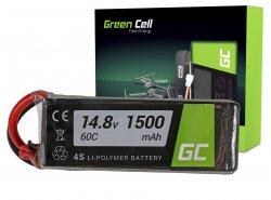 Green Cell ® Akku 1500mAh 14.8V