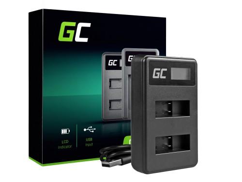 Green Cell ® Cámara Cargador de batería AHBBP-501 para GoPro AHDBT-501, Hero 5 Hero 6 Hero 7 HD Black White Silver Edition