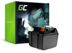Herramienta de batería Green Cell ® BL1830 BL1860 para Makita BDF450SFE BTL061RF BTW450RFE 6000mAh