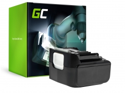 Batería Green Cell (3Ah 14.4V) BL1415 BL1415N BL1430 BL1440 BL1450 para Makita BDF343 BJV140Z DC18RA DC18RC DDF456 DTD146