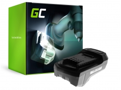 Green Cell® Batería (2Ah 14.4V) 45.113.14 4511314 para Einhell RT-CD 14,4/1 / Li / 2B 4513295 4513298 1180981
