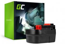 Green Cell® Batería (2Ah 12V) A12 A1712 HPB12 FSB12 para Black&Decker BD12PSK HP12K HPD1202 PS122K Firestorm FS1200D