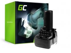 Green Cell ® Akku für Hitachi CJ10DL BCL1015 10.8V 2Ah