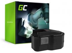 Green Cell ® Akku für M1230, MXM12 do AEG BEST 12 X Super, BS 12X, BBS 12 X, BSB 12 STX 12V 3.3Ah