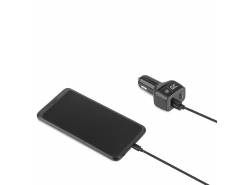 Green 1x USB-C Power Delivery max. 24W (5V/3A, 9V/2A, 12V/2A), 1x USB Quick Charge 3.0 (3.6-6.5V/3A, 6.5V-9V/2A, 9-12V/1.5A)