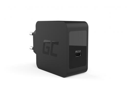 USB-C Power Delivery 18W Cargador Samsung Galaxy S10 S10+ S20 S20+, iPhone SE (2020) / 11 / XS / X, Nintendo Switch