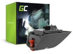Batería Green Cell (2.5Ah 18V) BLi-18 9839-20 9840-20 para Gardena BLi-18 Li-18/23R TCS Li-18-20 AccuJet ComfortCut EasyCut