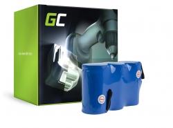 Batería Green Cell (3.3Ah 3.6V) 302768 8800-00.630.00 para Gardena 45 8808-20 08800-20 8800-20 8808-20 8810-20 9011955-01