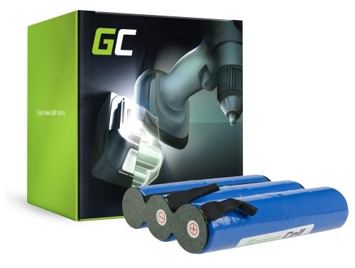 Batería Green Cell (3.3Ah 7.2V) 02505-00.620.00 2505-00.620.00 para Gardena Accu 6 ST 6 Bosch AGS10-6 AGS 70 AHS 18