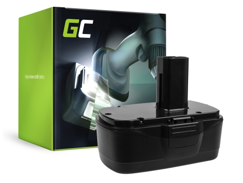 Batería Green Cell (3Ah 19.2V) 11375 11376 para Craftsman C3 XCP 19.2V CRS1000 ID2030 11485 114850 114852 115410 17191 5727.1