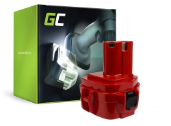 Batería Green Cell (1.5Ah 12V) 1220 1222 1233 1234 PA12 para Makita 1050D 4000 6227D 6270D 6271D 6313D 6317D 8271D Celma WAK 12