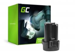 Batería Green Cell (2.5Ah 10.8V) BL1013 BL1014 194550-6 194551-4 195332-9 para Makita DC10WA DF330 DF330D DF330DWE TD090 TD090D