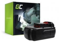 Green Cell ® Akku PC18B für Werkzeug Porter-Cable PC1800D PC180DK PC18AG PC18JR PC18JS PC18RS PC18SS