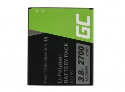 Green Cell ® Handy Akku BL259 für Lenovo K3 K5 K5 Plus C2 Lemon 3