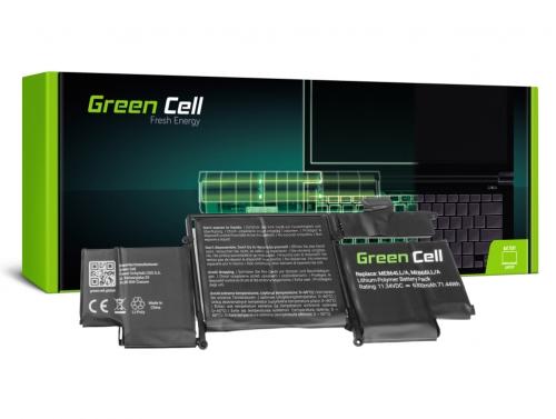 Green Cell Batería A1493 para Apple MacBook Pro 13 A1502 (Late 2013 Mid 2014)