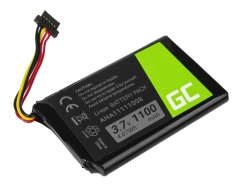 Green Cell ® Akku VFAD AHA11111008 für GPS TomTom 4FL50 Go 5100 6100 PRO TRUCK 5250 Trucker 6000