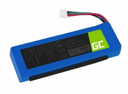 Green Cell Batería GSP1029102R P763098 para altavoces JBL Charge 2 Charge 2 Plus Charge 2+ Charge 3 2015 version, 3.7V 6000mAh
