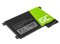 Batería Green Cell ® 170-1056-00 para Amazon Kindle Touch 2011 Ebook Reader