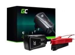 Green Cell Intelligente Batterieladegeräte tester für Auto Motorrad AGM 6/12V 1A