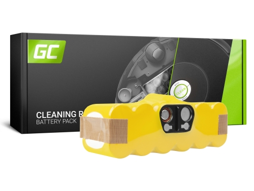 Batería Green Cell (3Ah 14.4V) 80501 para iRobot Roomba 500 510 530 550 560 570 580 600 620 625 630 650 700 760 780 800 870 880
