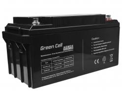 Green Cell ® Gel Batterie AGM VRLA 12V 65Ah