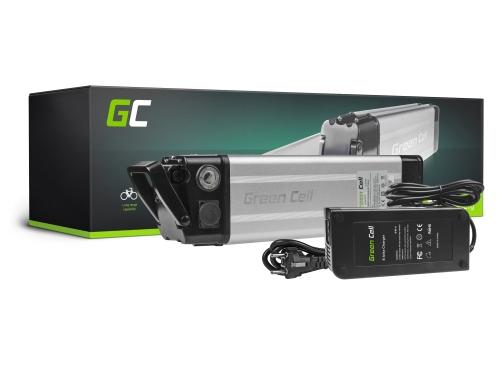 Batería Batería Green Cell Silverfish 36V 8.8Ah 317Wh para bicicleta eléctrica e-bike Pedelec