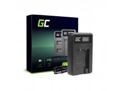 Kamera Akku-Ladegerät  MH-66 Green Cell ® für Nikon EN-EL19 Coolpix W100 A100 A300 S32 S33 S100