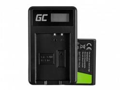 Green Cell ® Akku LP-E10 und Ladegerät LC-E10 für OS Rebel T3, T5, T6, Kiss X50, Kiss X70, EOS 1100D