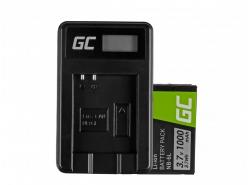 Batería Green Cell ® NB-6L / 6LH y cargador CB-2LY para Canon PowerShot SX510 HS, SX520 HS, SX530 HS, SX600 HS