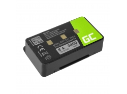 Green Cell ® Akku 010-10517-00 011-00955-00 für GPS Garmin GPSMAP 276 296 376 376c 396 495 496