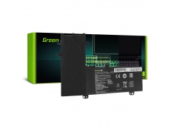 Green Cell Batería C21N1504 para Asus Transparamer Book Flip TP200S TP200SA